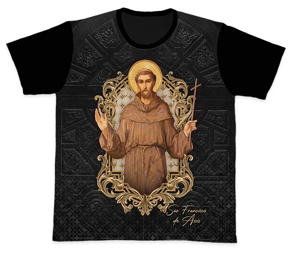 Camiseta Ref. 0446 - São Francisco de Assis