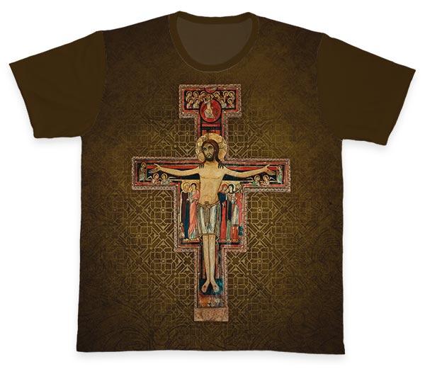 Camiseta Ref. 0447 - São Francisco de Assis