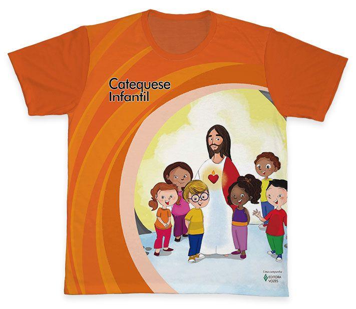 Camiseta REF.0450 - Catequese - Infantil  - Camisetas Sabatini