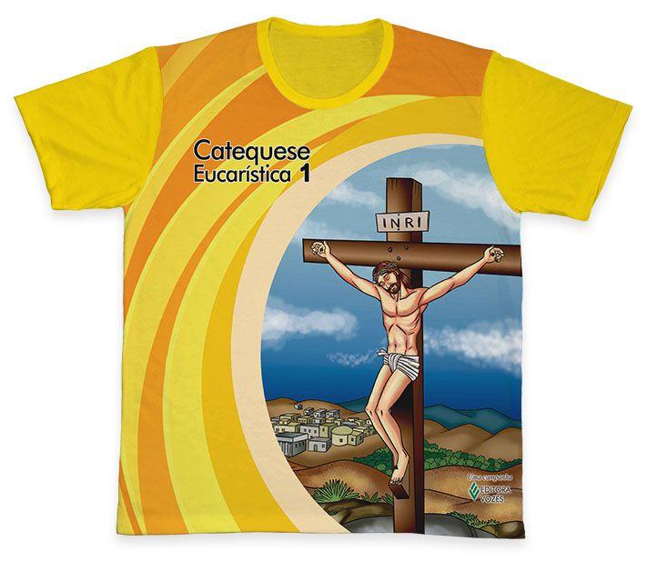Camiseta REF.0451 - Catequese Eucarística 1 - Primeira Etapa  - Camisetas Sabatini