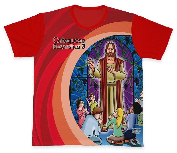 Camiseta REF.0453 - Catequese Eucarística 3 - Terceira Etapa  - Camisetas Sabatini