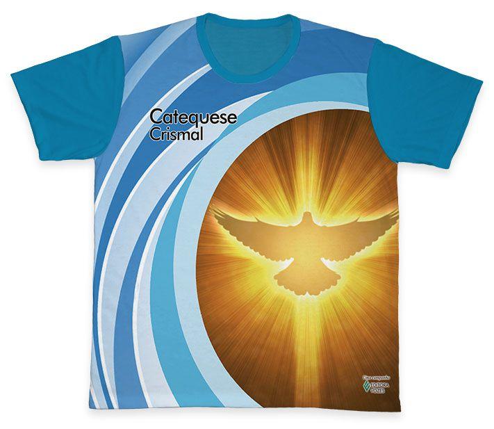 Camiseta REF.0454 - Catequese - Crismal  - Camisetas Sabatini