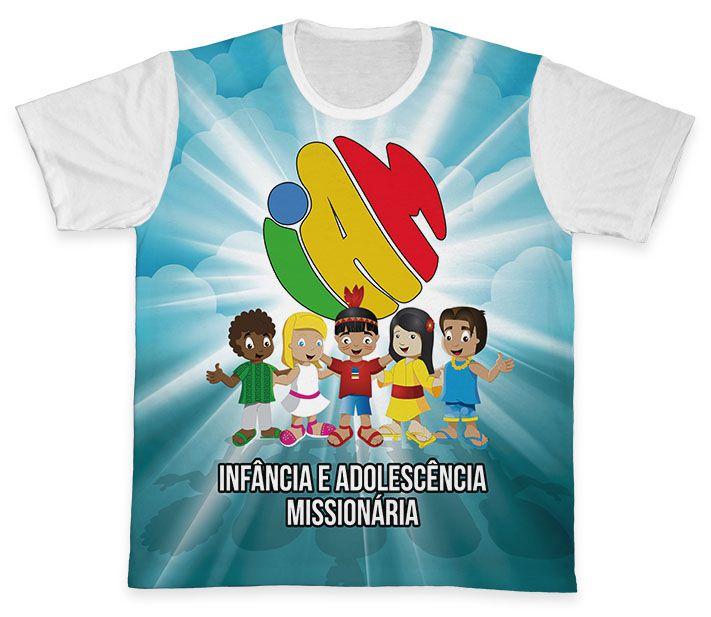 Camiseta Ref. 0457 - IAM - Infância e Adolescência Missionária