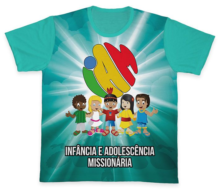 Camiseta REF.0458 - IAM - Infância e Adolescência Missionária  - Camisetas Sabatini