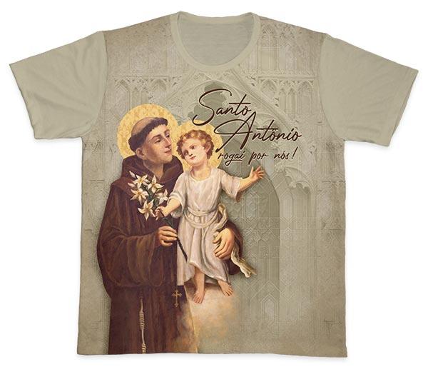 Camiseta Ref. 0470 - Santo Antônio