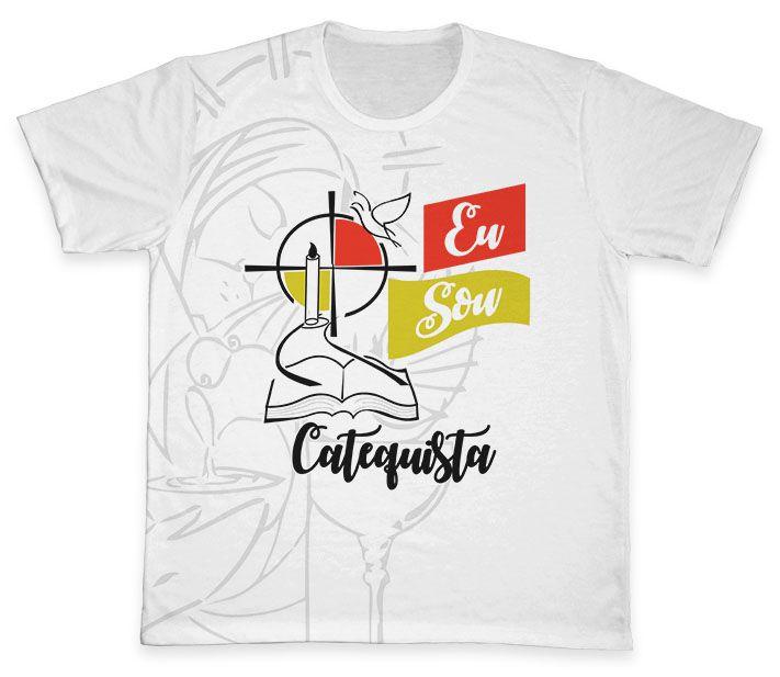 Camiseta Ref. 0486 - Eu Sou Catequista