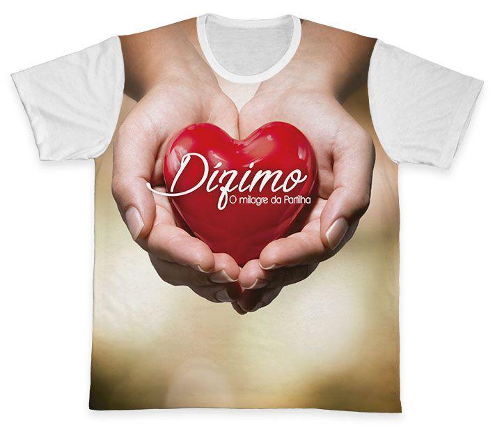 Camiseta REF.0565 - Pastoral do Dízimo  - Camisetas Sabatini