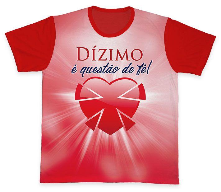Camiseta REF.0566 - Pastoral do Dízimo  - Camisetas Sabatini