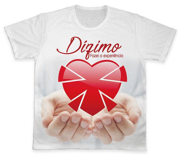 Camiseta REF.0567 - Pastoral do Dízimo  - Camisetas Sabatini