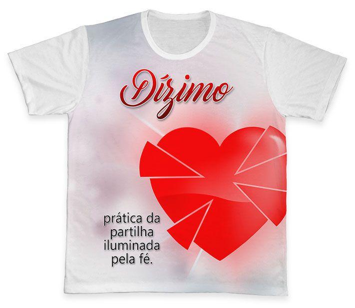 Camiseta REF.0568 - Pastoral do Dízimo  - Camisetas Sabatini