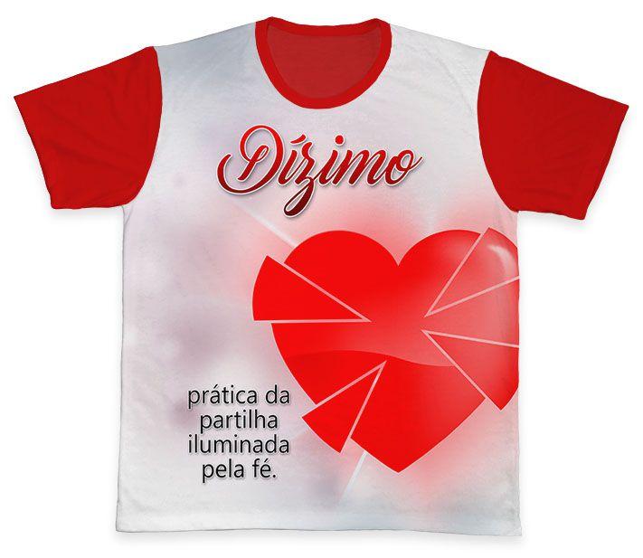 Camiseta REF.0569 - Pastoral do Dízimo  - Camisetas Sabatini