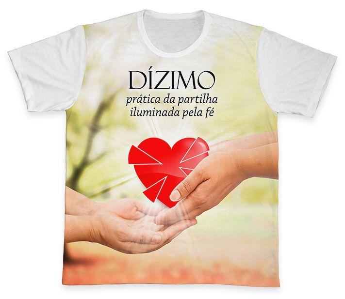Camiseta REF.0570 - Pastoral do Dízimo  - Camisetas Sabatini