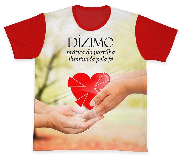 Camiseta REF.0571 - Pastoral do Dízimo  - Camisetas Sabatini