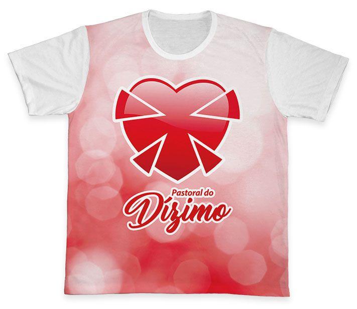 Camiseta REF.0572 - Pastoral do Dízimo  - Camisetas Sabatini