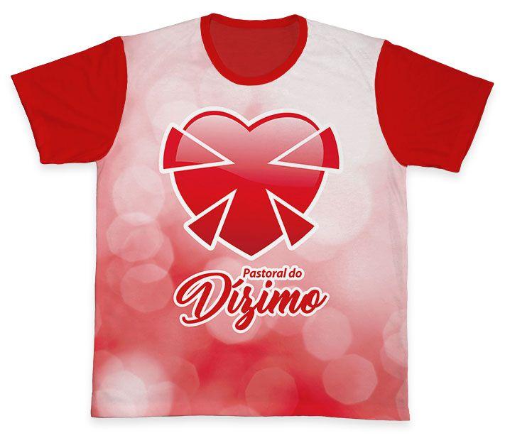 Camiseta REF.0573 - Pastoral do Dízimo  - Camisetas Sabatini
