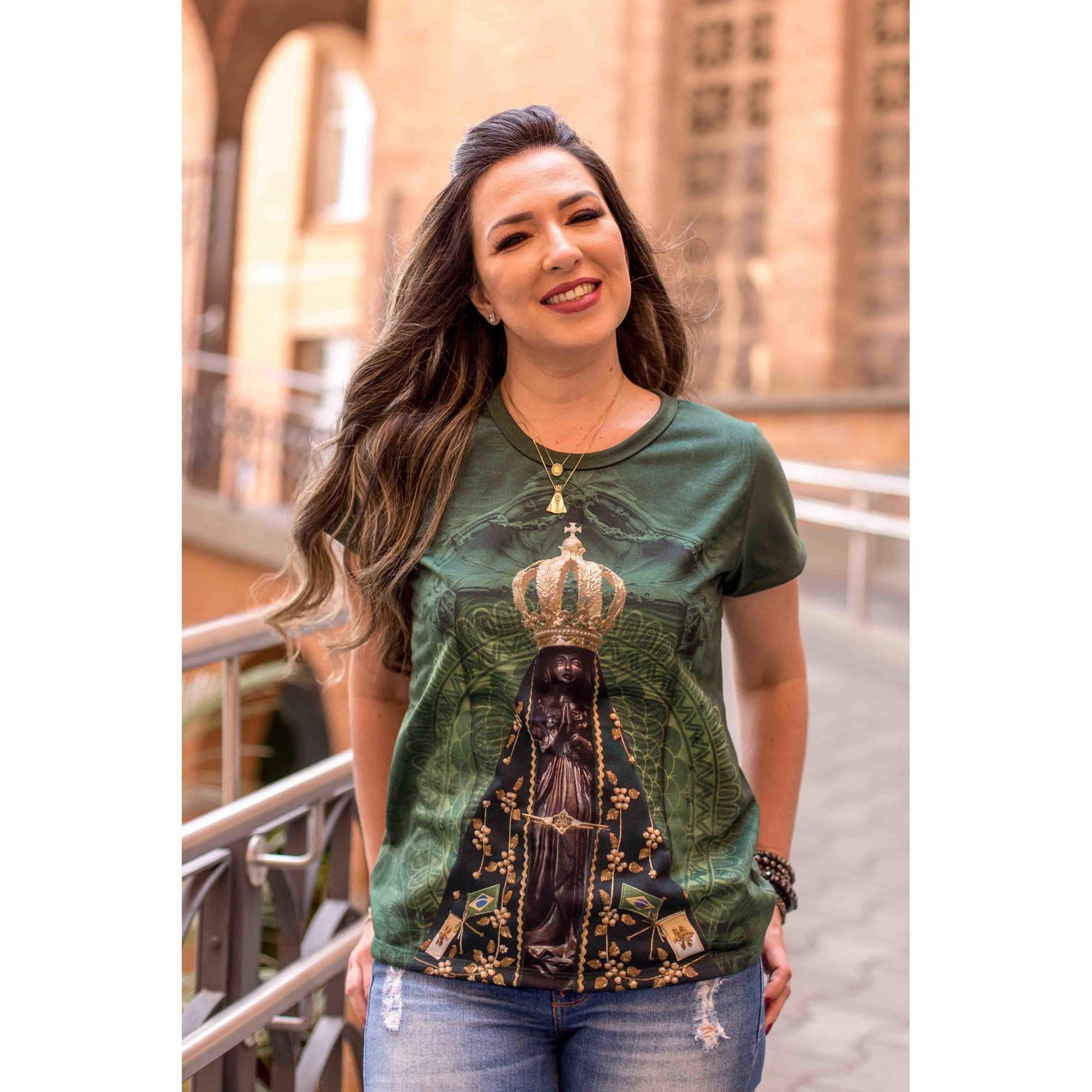 Camiseta Ref. 0655 - Nossa Senhora Aparecida