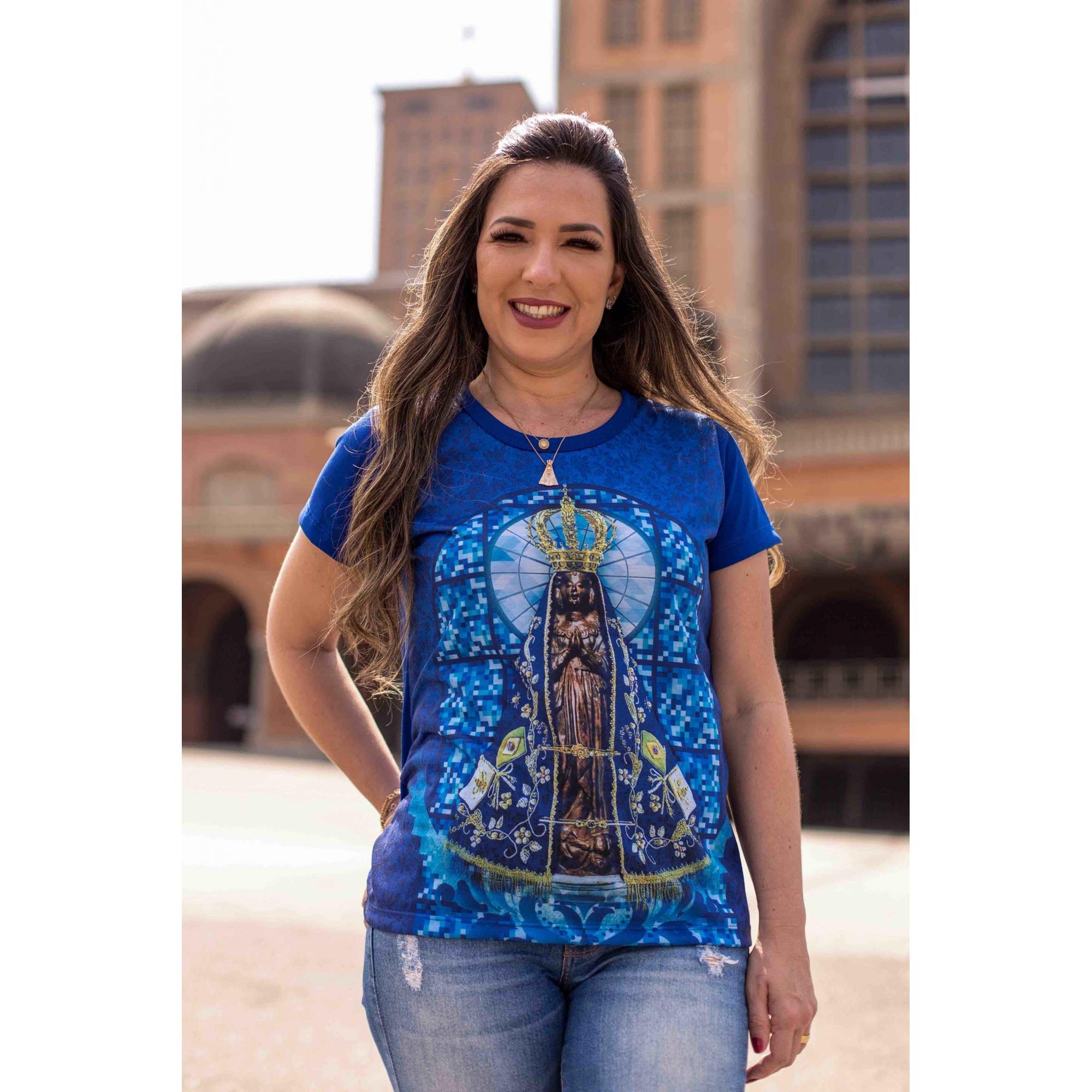 Camiseta Ref. 0656 - Nossa Senhora Aparecida