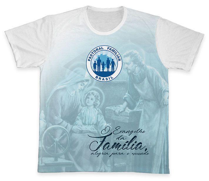 Camiseta REF.0682 - Pastoral Familiar  - Camisetas Sabatini
