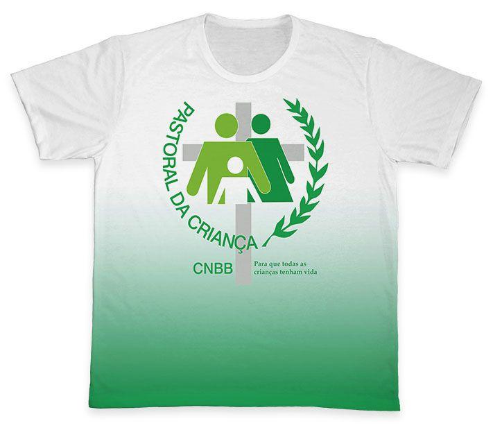 Camiseta REF.0700 - Pastoral da Criança  - Camisetas Sabatini