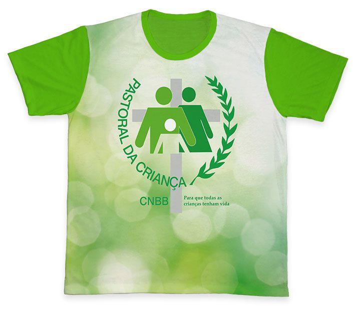 Camiseta REF.0702 - Pastoral da Criança  - Camisetas Sabatini