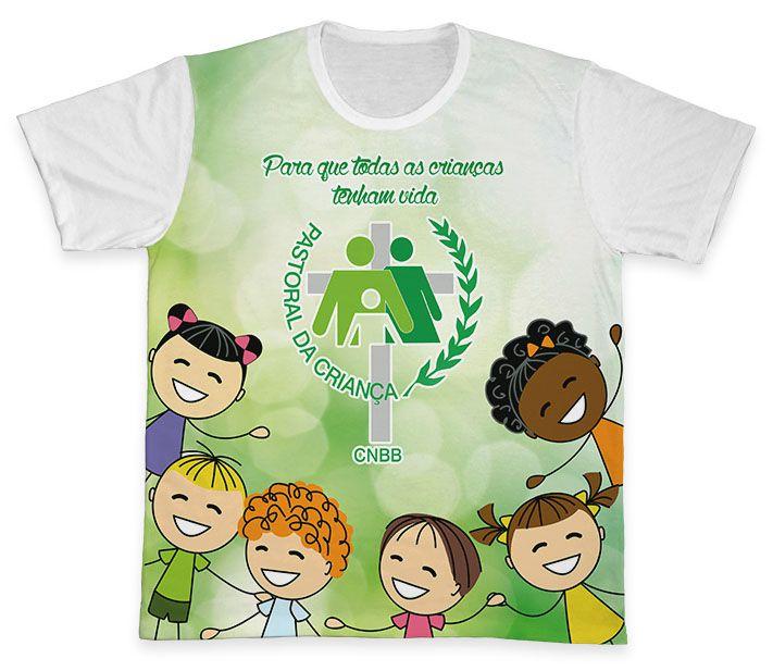 Camiseta REF.0703 - Pastoral da Criança  - Camisetas Sabatini