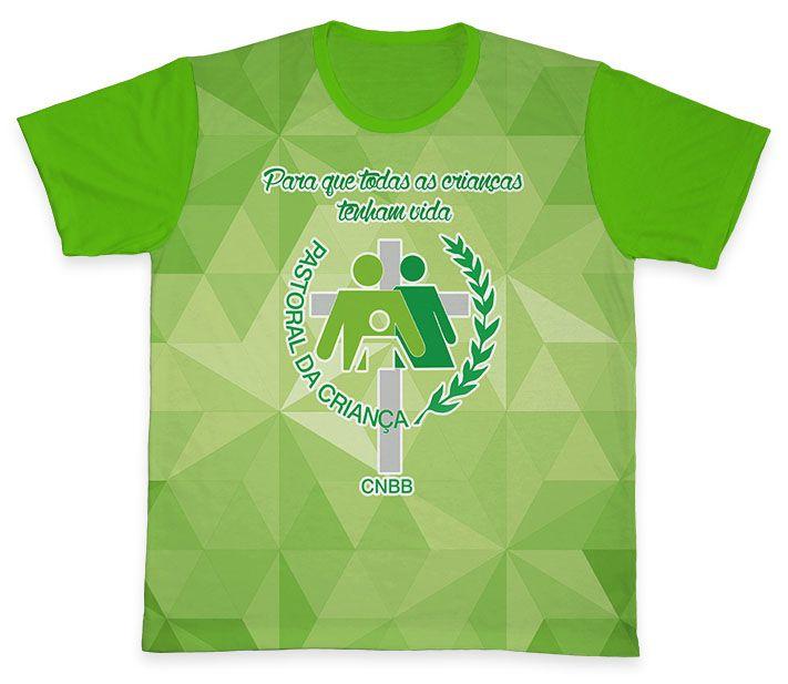 Camiseta REF.0705 - Pastoral da Criança  - Camisetas Sabatini