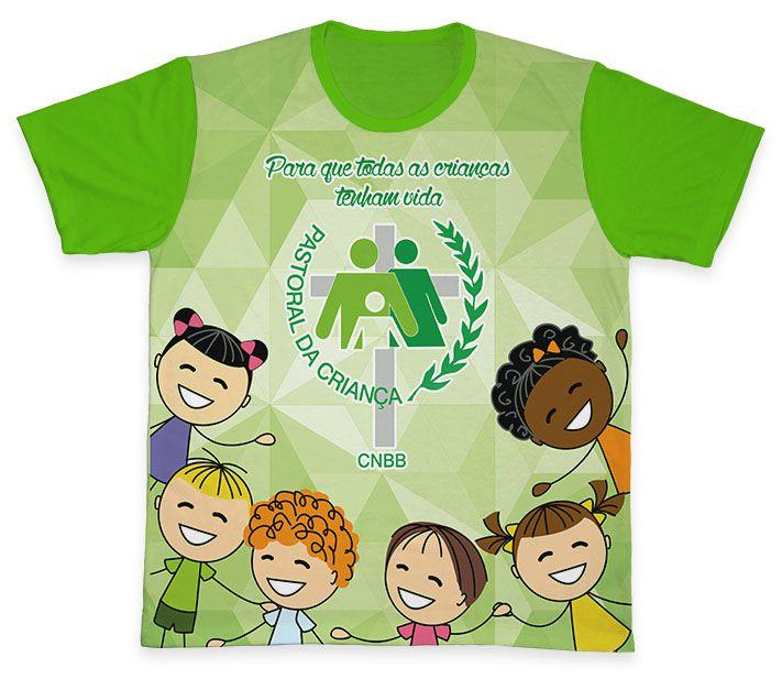 Camiseta REF.0706 - Pastoral da Criança  - Camisetas Sabatini