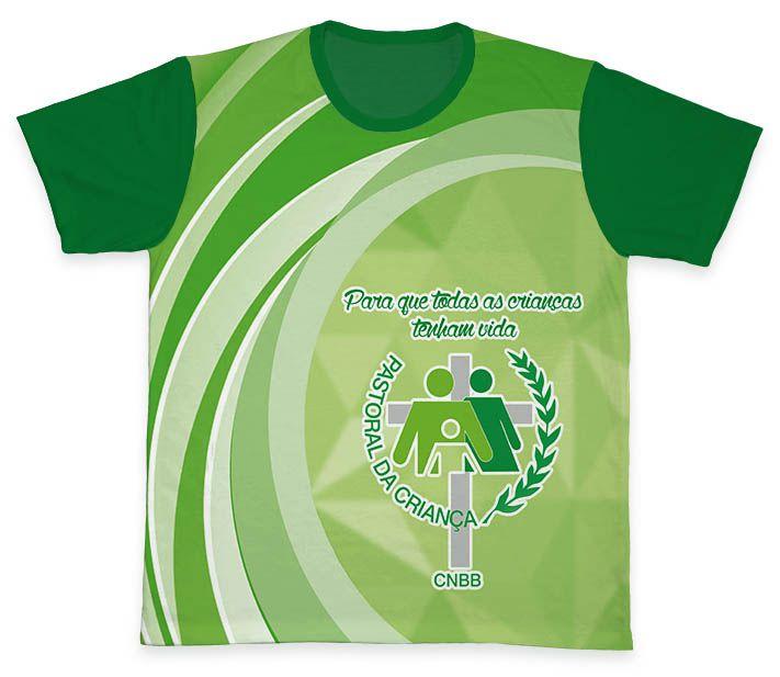 Camiseta REF.0707 - Pastoral da Criança  - Camisetas Sabatini