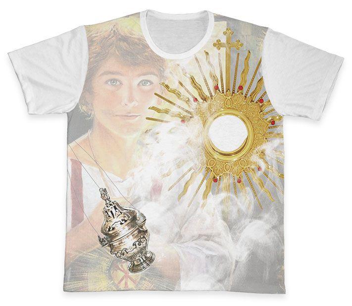 Camiseta REF.0732 - Pastoral dos Coroinhas - São Tarcísio  - Camisetas Sabatini