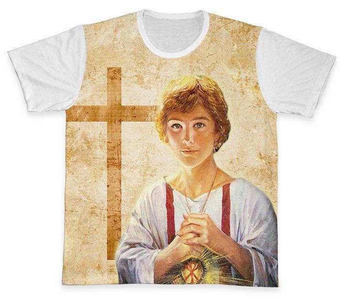 Camiseta REF.0736 - Pastoral dos Coroinhas - São Tarcísio  - Camisetas Sabatini