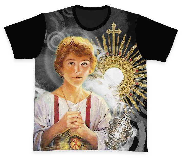 Camiseta Ref. 0741 - Pastoral dos Coroinhas - São Tarcísio