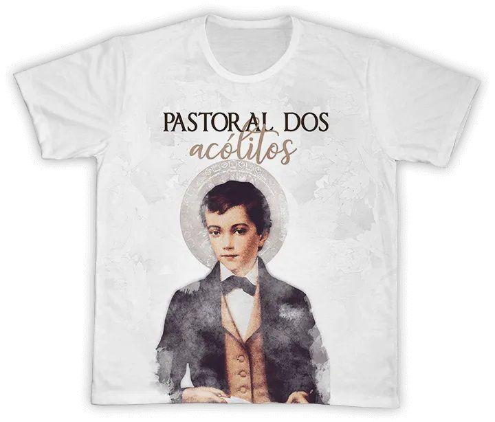Camiseta Ref. 0743 - Pastoral dos Acólitos - São Domingos Sávio
