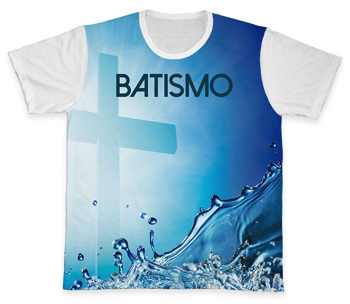 Camiseta REF.0761 - Pastoral do Batismo  - Camisetas Sabatini