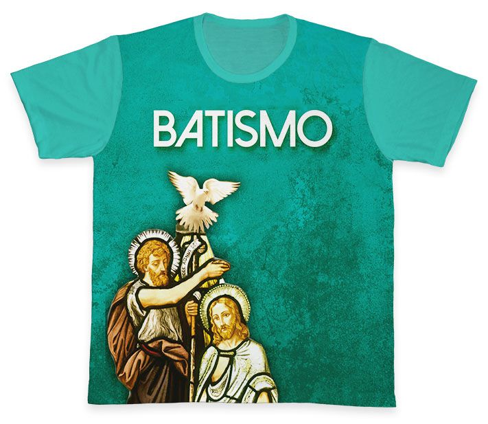 Camiseta REF.0762 - Pastoral do Batismo  - Camisetas Sabatini