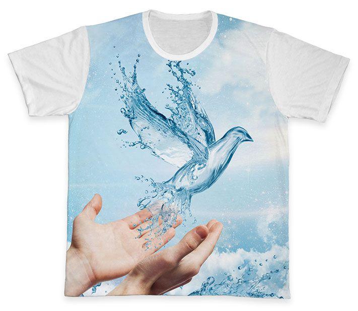 Camiseta REF.0765 - Pastoral do Batismo  - Camisetas Sabatini