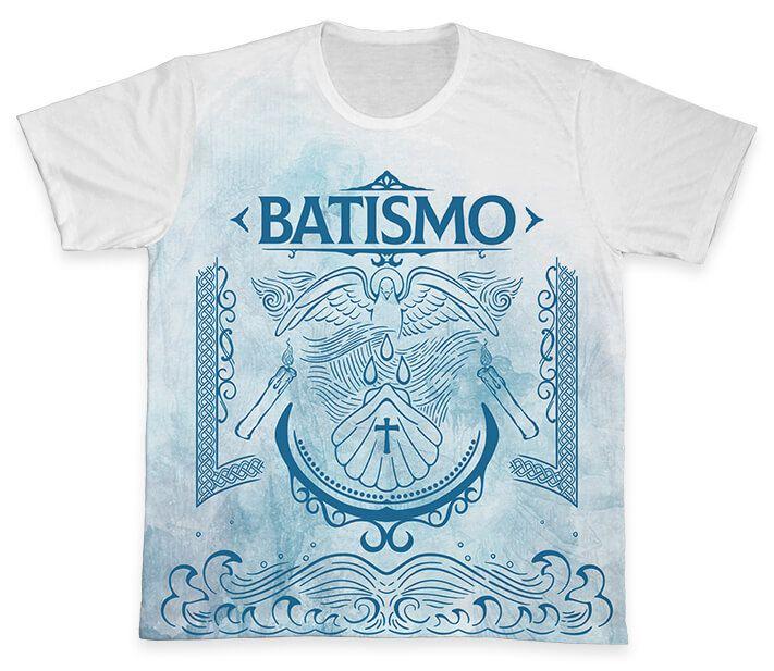 Camiseta REF.0767 - Pastoral do Batismo