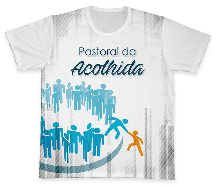 Camiseta REF.0781 - Pastoral da Acolhida  - Camisetas Sabatini