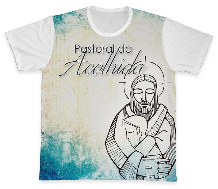 Camiseta REF.0782 - Pastoral da Acolhida  - Camisetas Sabatini