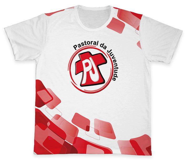 Camiseta REF.0800 - Pastoral da Juventude  - Camisetas Sabatini