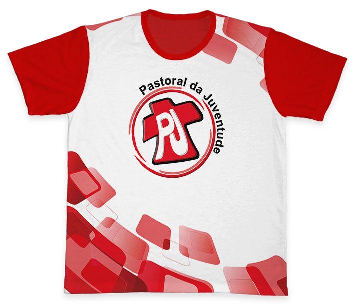 Camiseta REF.0801 - Pastoral da Juventude  - Camisetas Sabatini