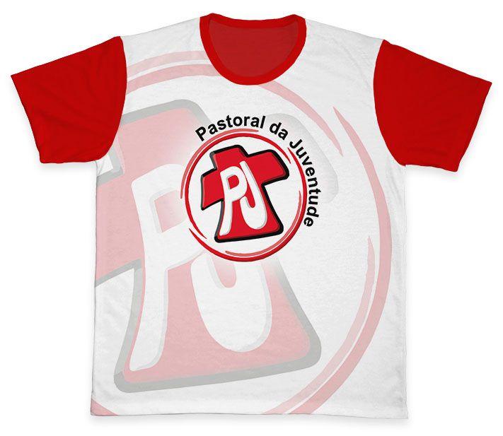 Camiseta REF.0803 - Pastoral da Juventude  - Camisetas Sabatini
