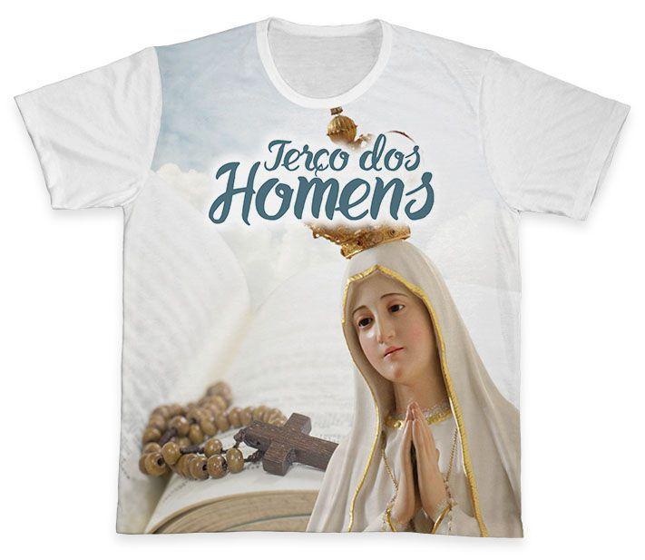 Camiseta Ref. 0820 - Terço dos Homens