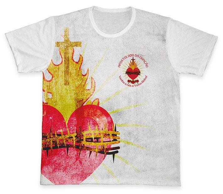 Camiseta REF.0837 - Apostolado da Oração  - Camisetas Sabatini