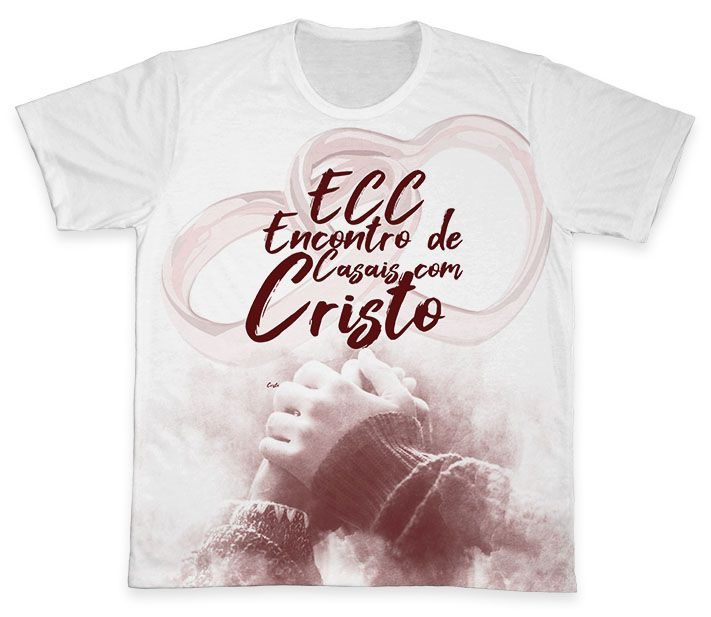 Camiseta REF.0851 - ECC - Encontro de Casais com Cristo