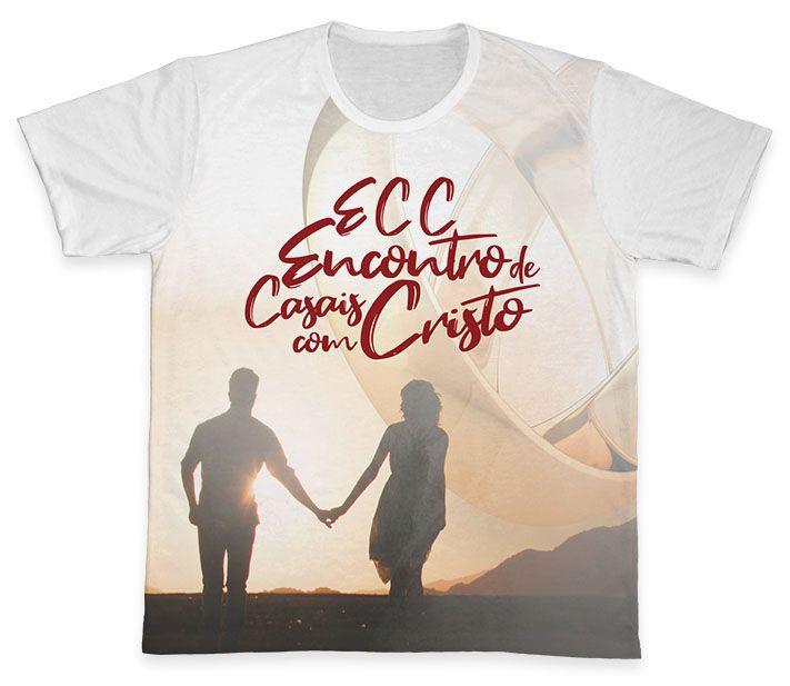 Camiseta REF.0852 - ECC - Encontro de Casais com Cristo  - Camisetas Sabatini