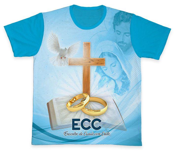 Camiseta REF.0853 - ECC - Encontro de Casais com Cristo  - Camisetas Sabatini