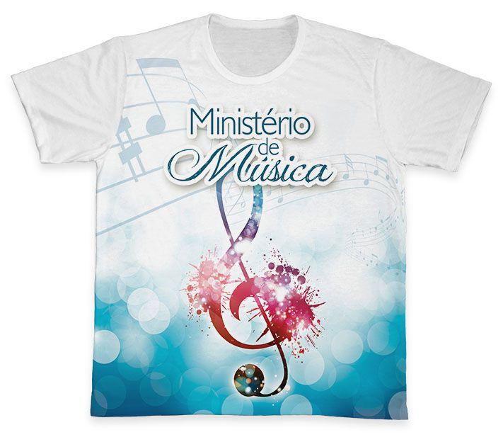 Camiseta REF.0866 - Ministério de Música  - Camisetas Sabatini