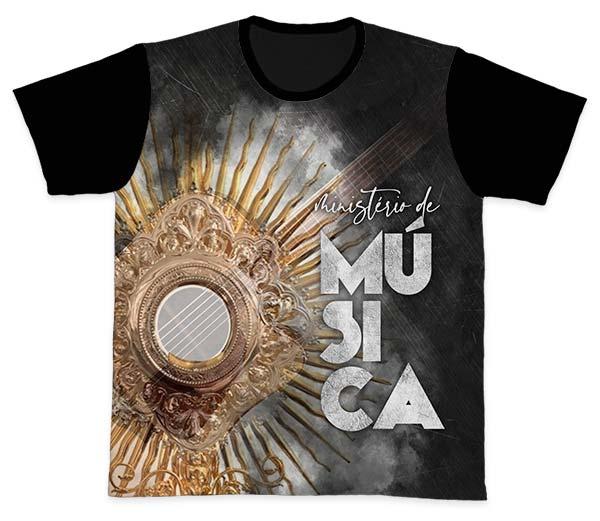 Camiseta Ref. 0868 - Ministério de Música