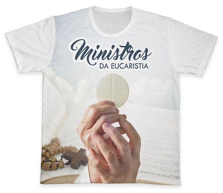 Camiseta REF.0895 - Ministros da Eucaristia  - Camisetas Sabatini