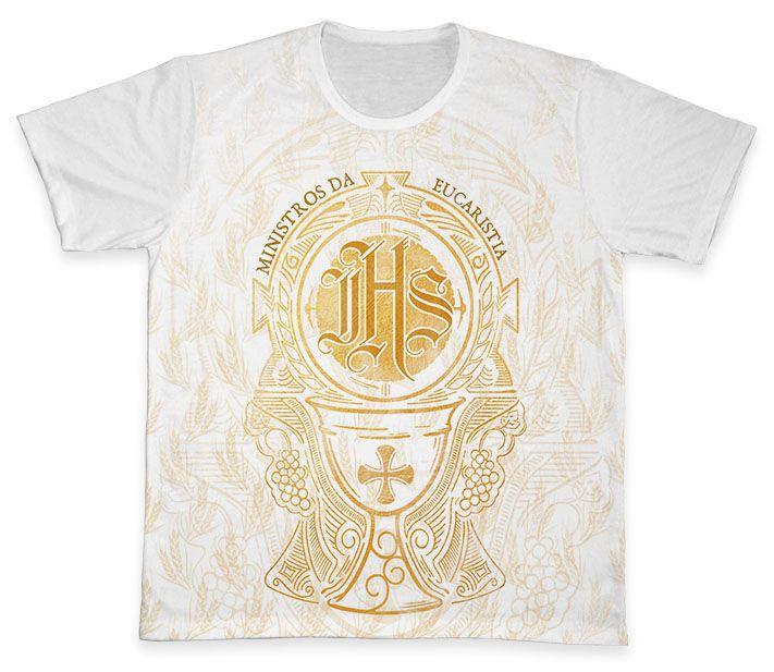 Camiseta REF.0897 - Ministros da Eucaristia  - Camisetas Sabatini